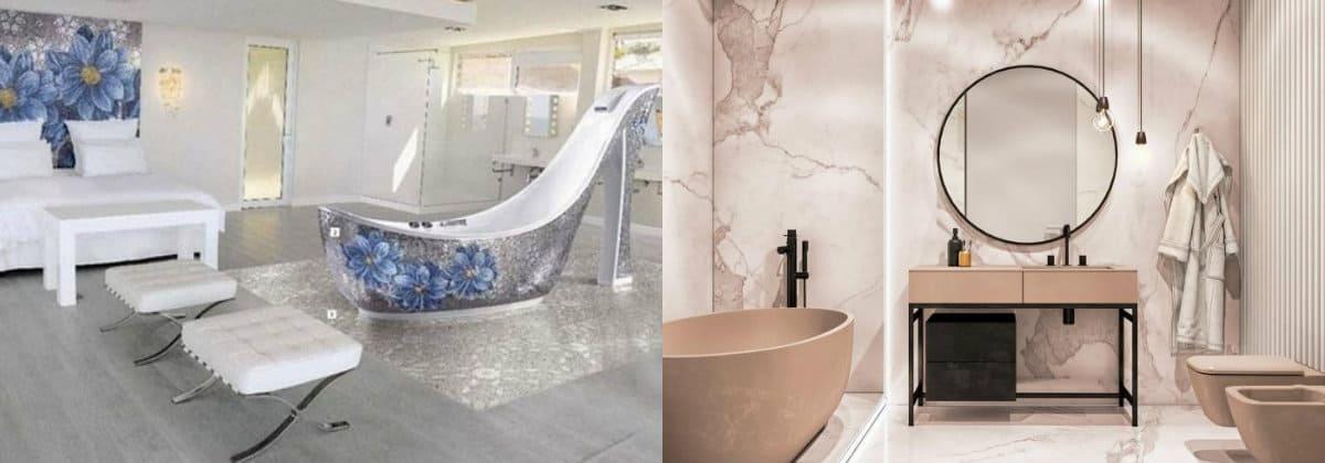 ванная комната 2019: необычный дизайн