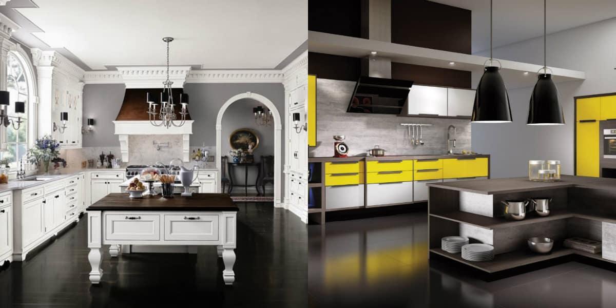 Дизайн кухни 2019: стили