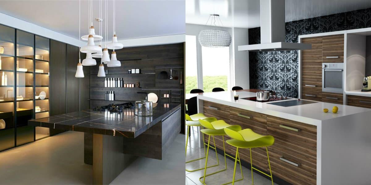 дизайн кухни 2019 : современный дизайн