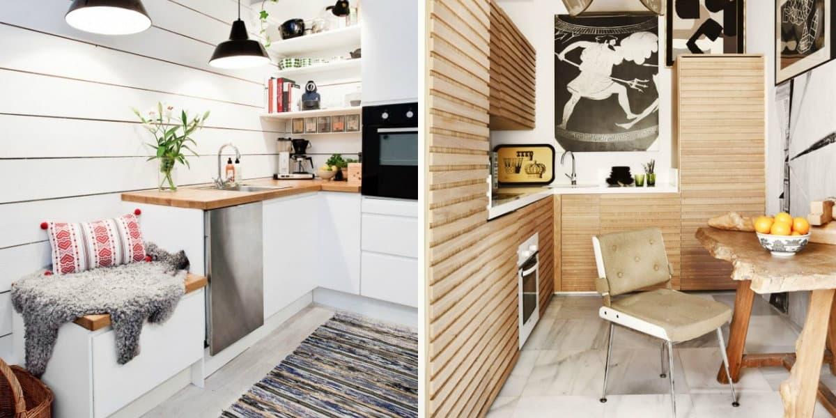 дизайн маленькой кухни 2019 топ секреты креативного оформления