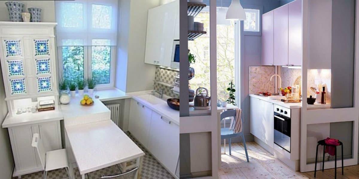 Дизайн маленькой кухни 2019: скандинавский дизайн