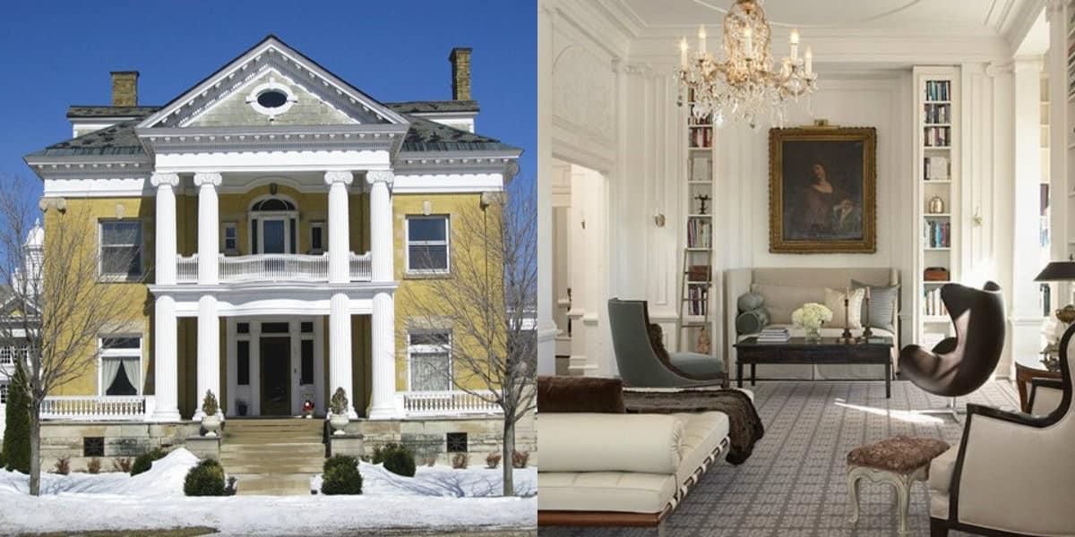 Дом в стиле Неоклассика: дом с колоннами