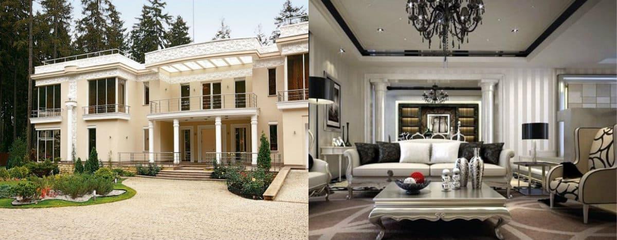 Дом в стиле Неоклассика: террасы