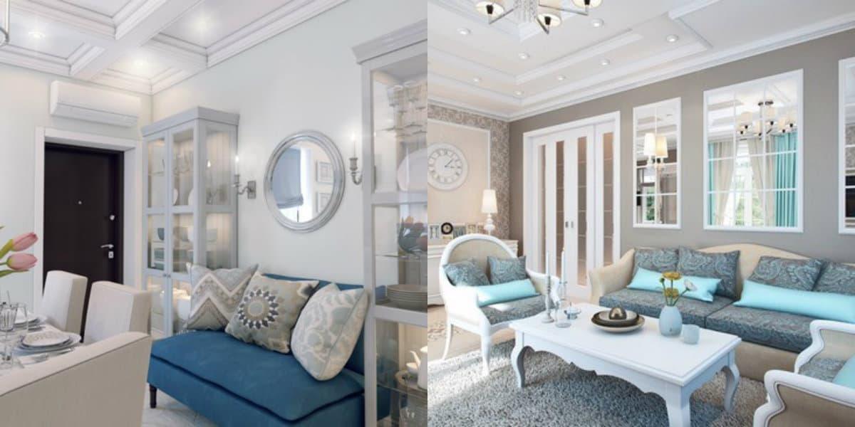 Квартира в стиле Неоклассика: мягкая мебель