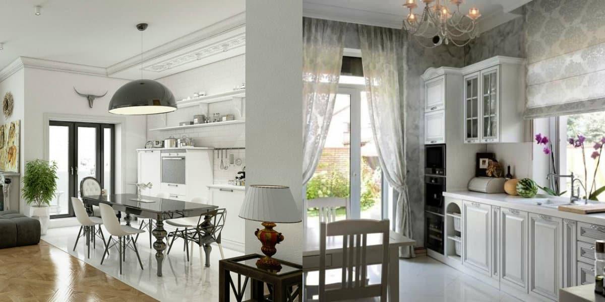 Квартира Неоклассика: кухня
