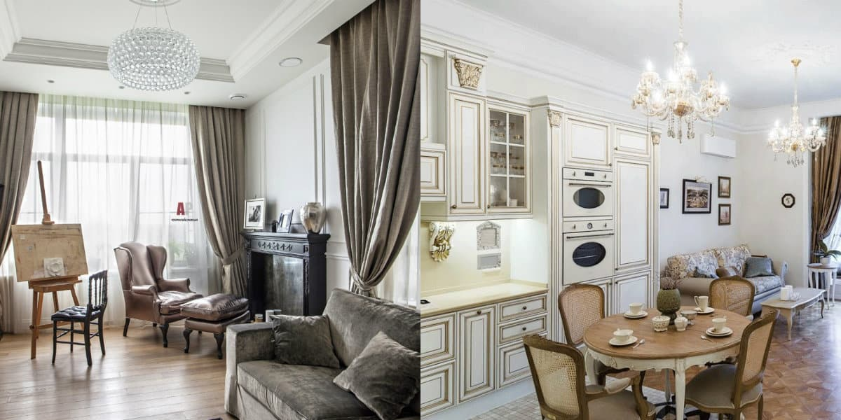 Квартира в стиле Неоклассика: мебель
