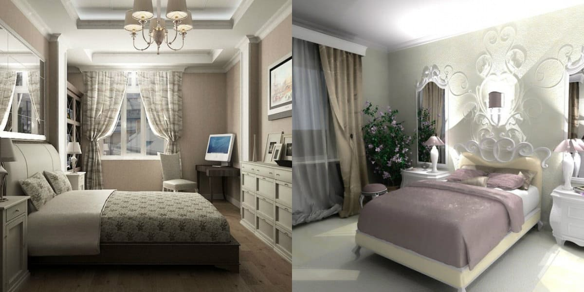 Спальня в стиле Неоклассика: декор
