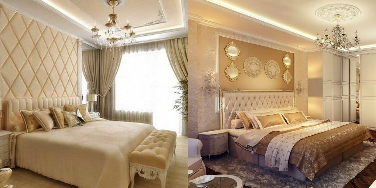Спальня в стиле Неоклассика: светильники
