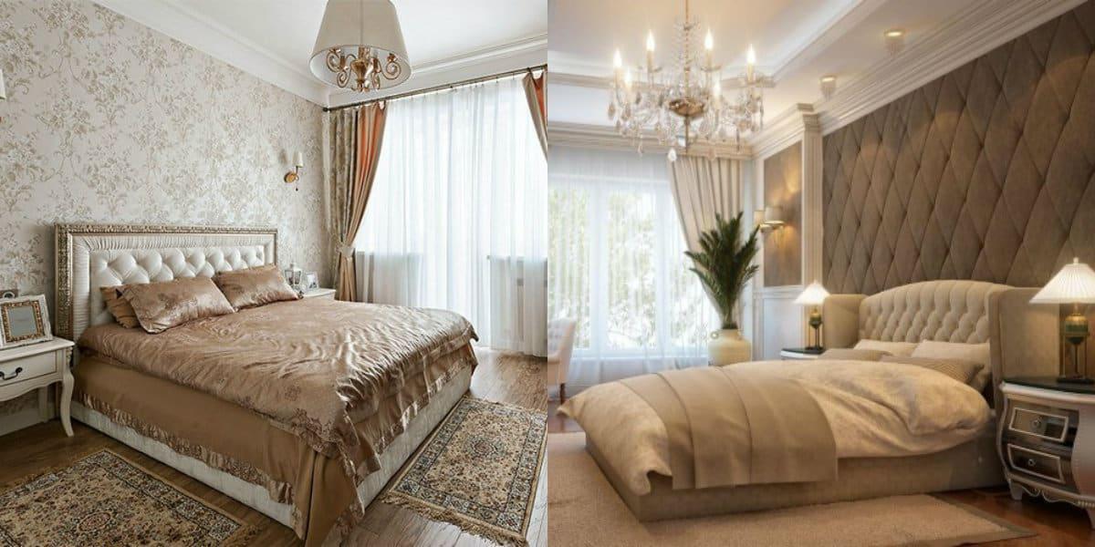 Спальня в стиле Неоклассика: кровать