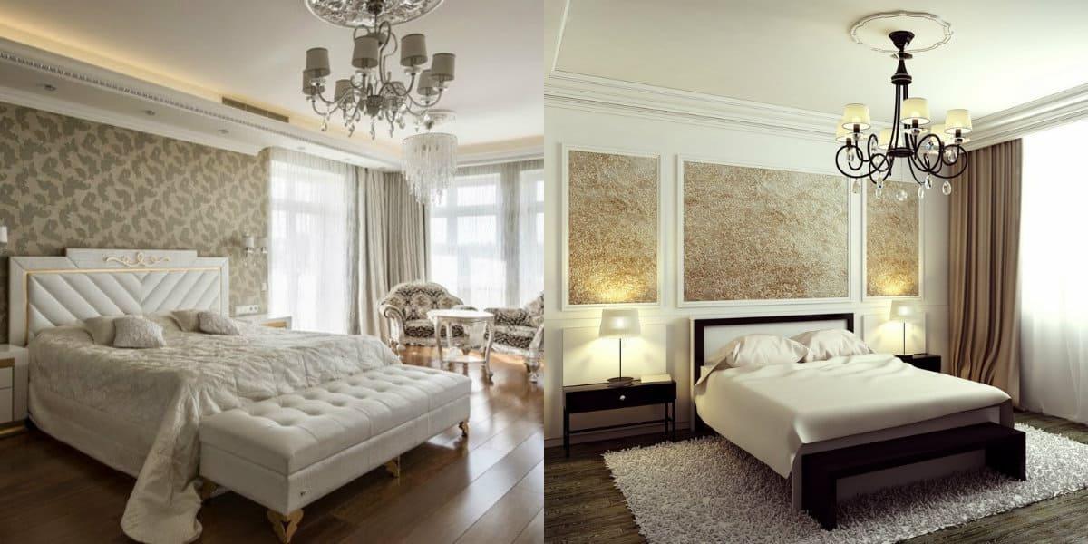 Спальня в стиле Неоклассика: цвет
