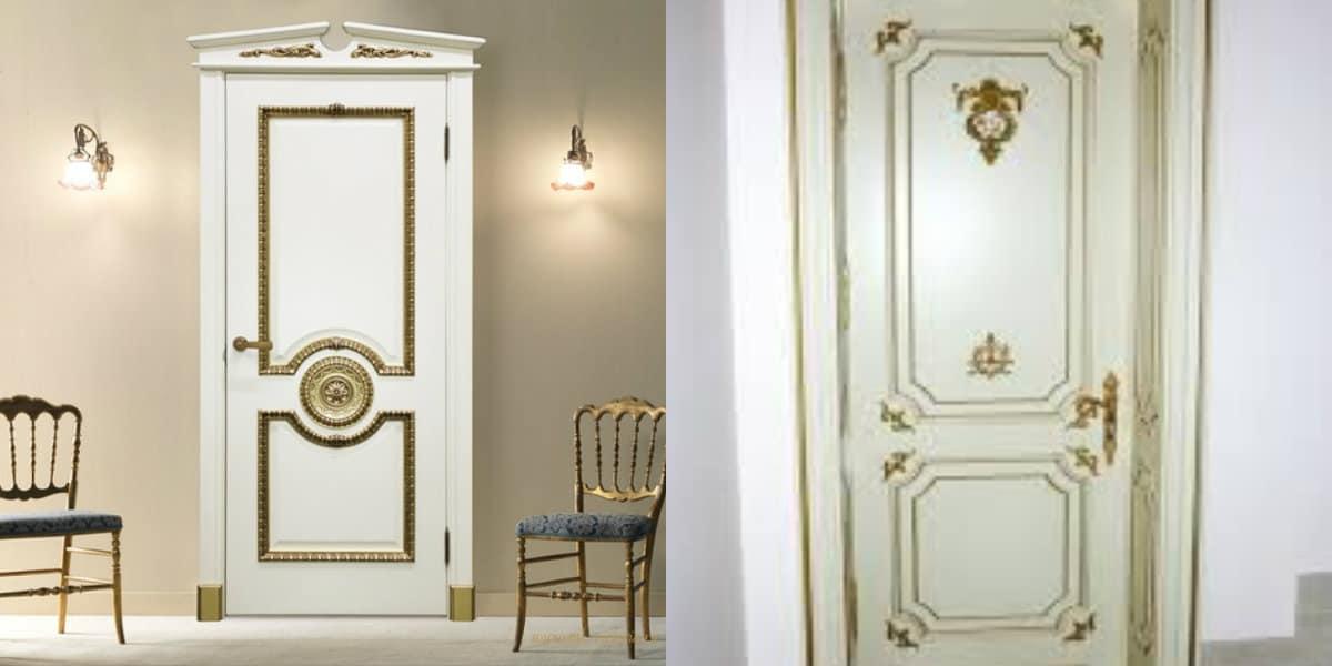 двери в стиле Неоклассика: шит на двери