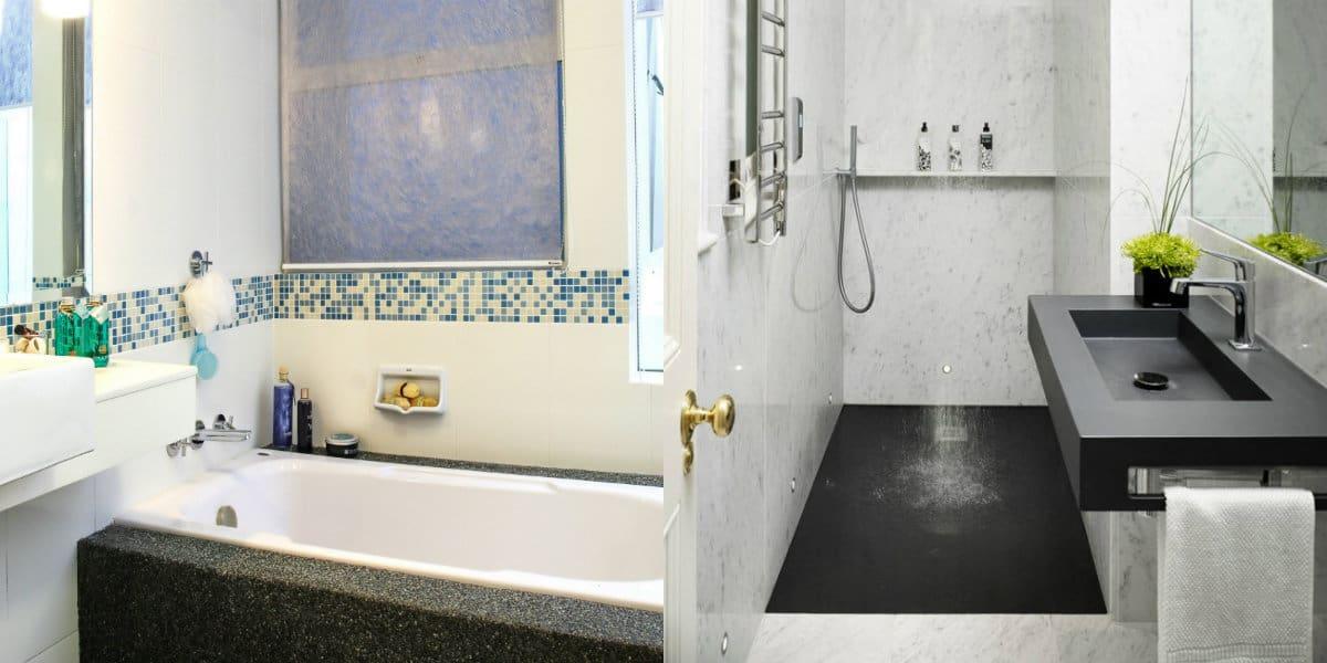 Дизайн маленькой ванной комнаты 2019: японский стиль