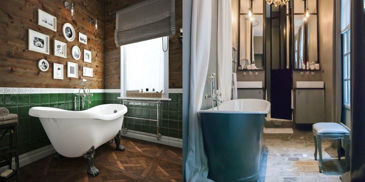 Дизайн маленькой ванной комнаты 2019: ванна