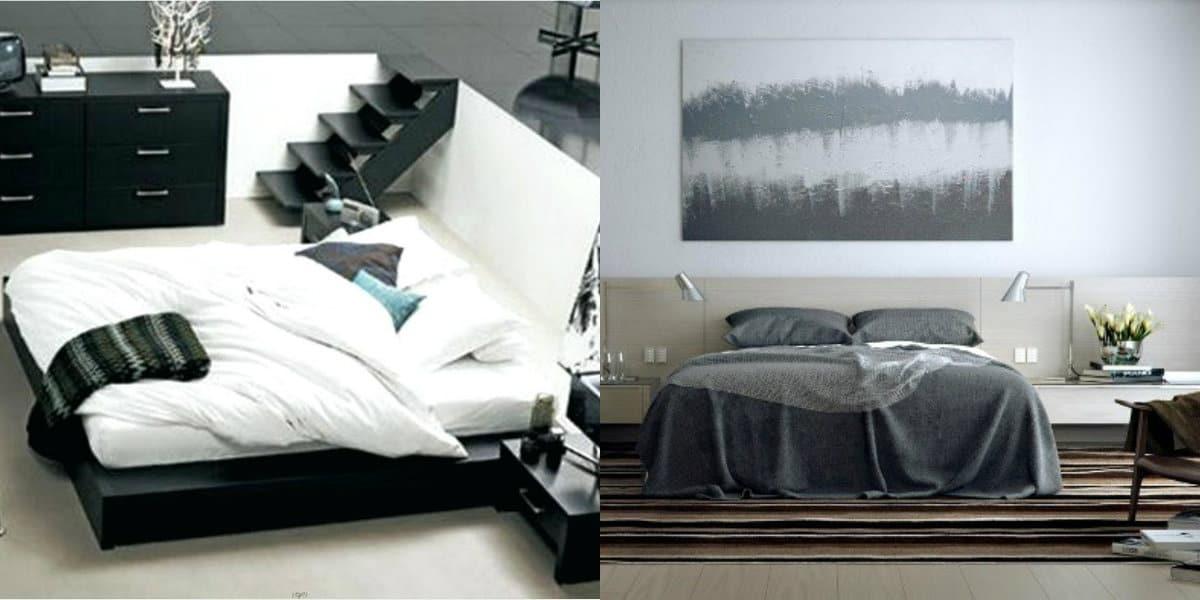 Дизайн спальни 2019 : цвет