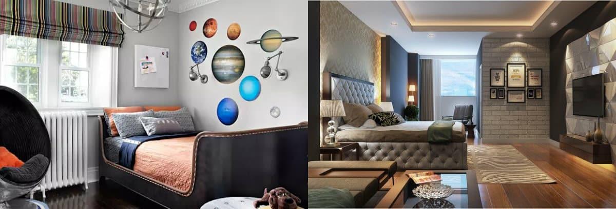 Дизайн спальни 2019 : спальня подростков