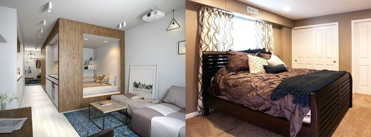 Дизайн спальни 2019 : изголовье кровати