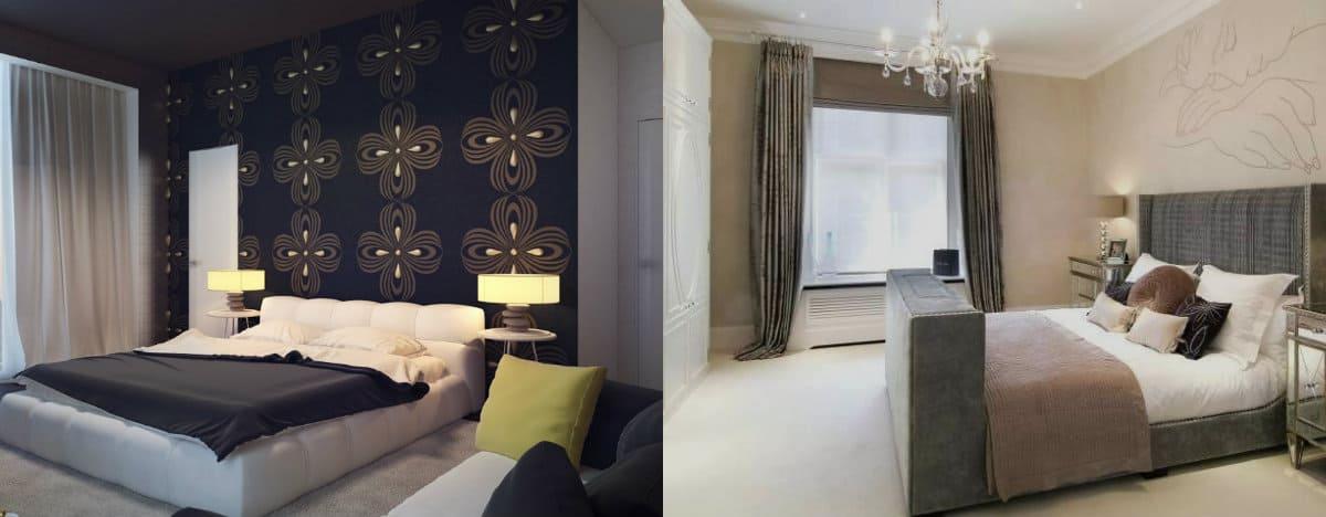 Дизайн спальни 2019 : декор