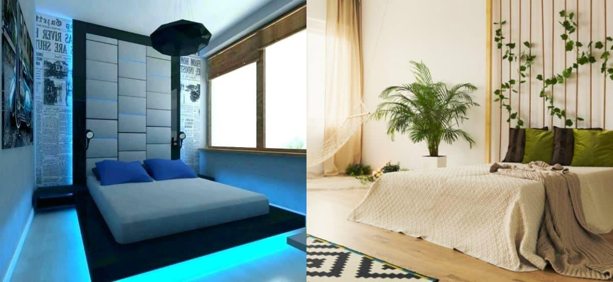 Дизайн спальни 2019 : этно