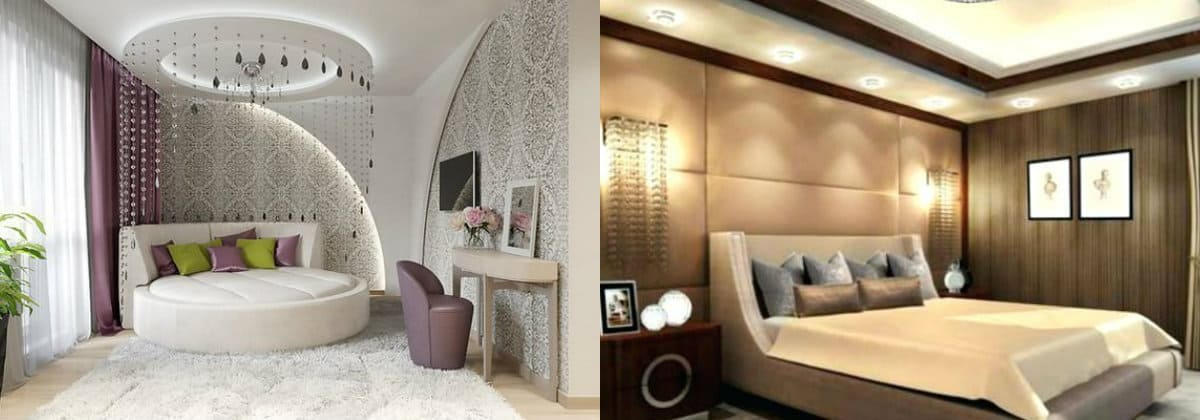 Дизайн спальни 2019 : кровать