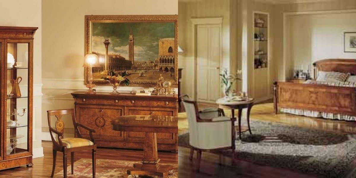 интерьер в стиле Бидермейер: частая комната