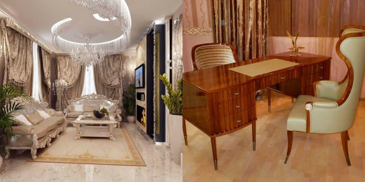 интерьер в стиле Бидермейер: кресло