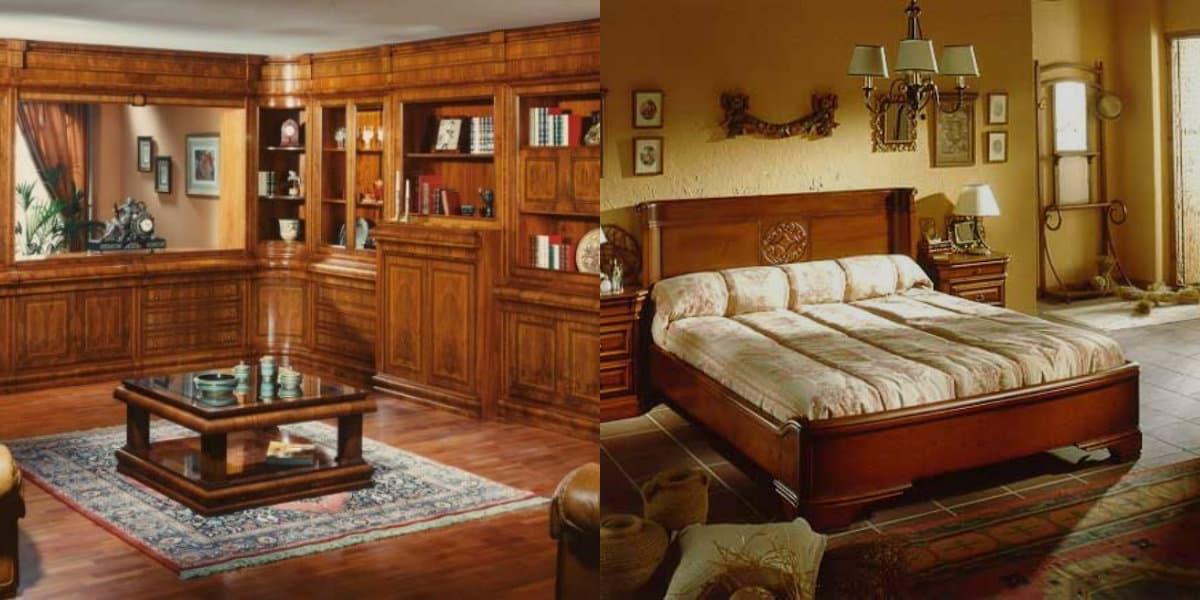 интерьер в стиле Бидермейер: спальня