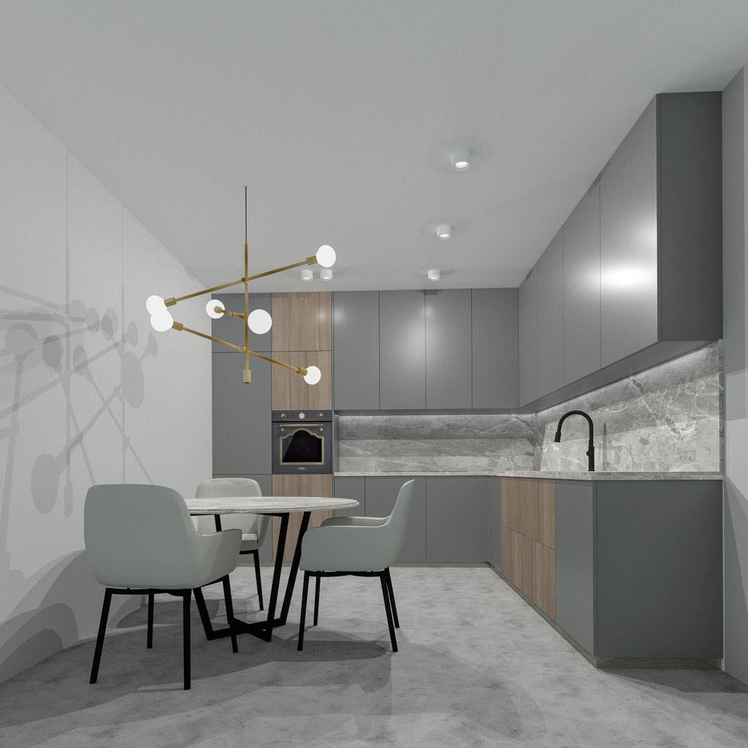 кухня-в-стиле-неоклассика-фото