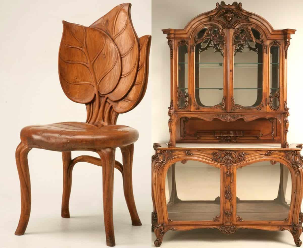 Мебель в стиле Модерн: стул