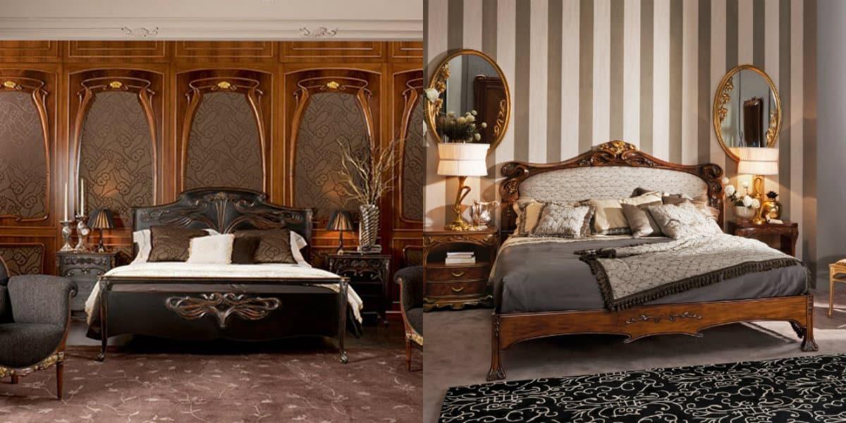 Мебель в стиле Модерн: кровать
