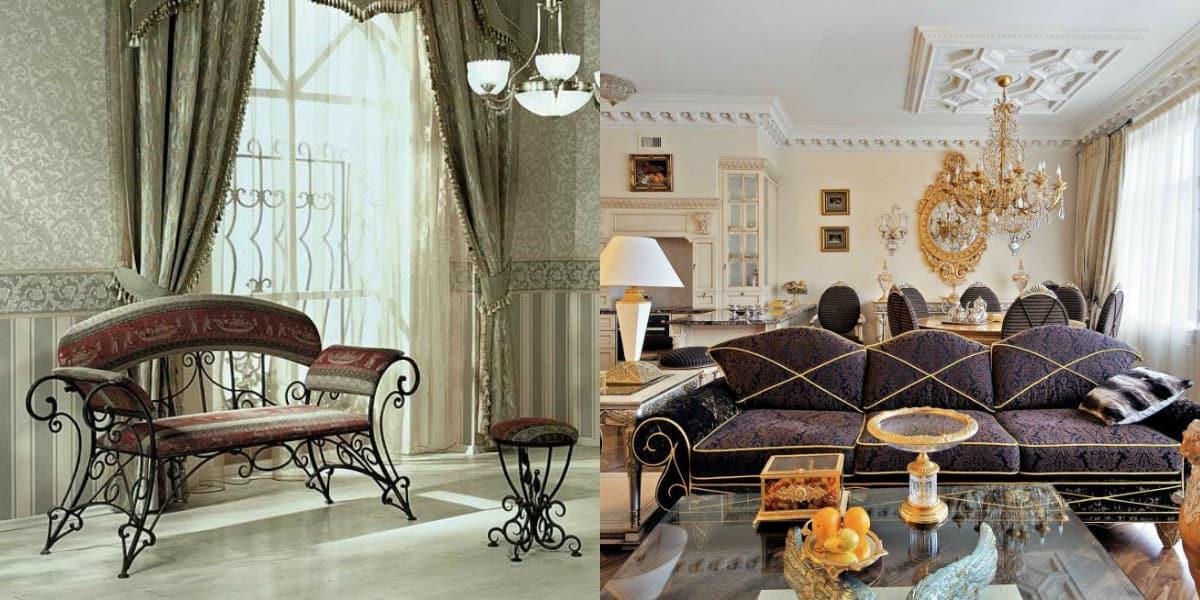 Мебель в стиле Модерн: кованая мебель