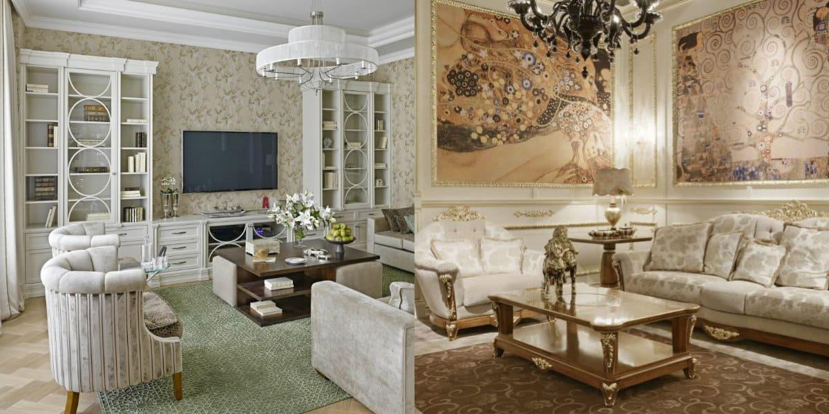мебель в стиле неоклассика: цвет