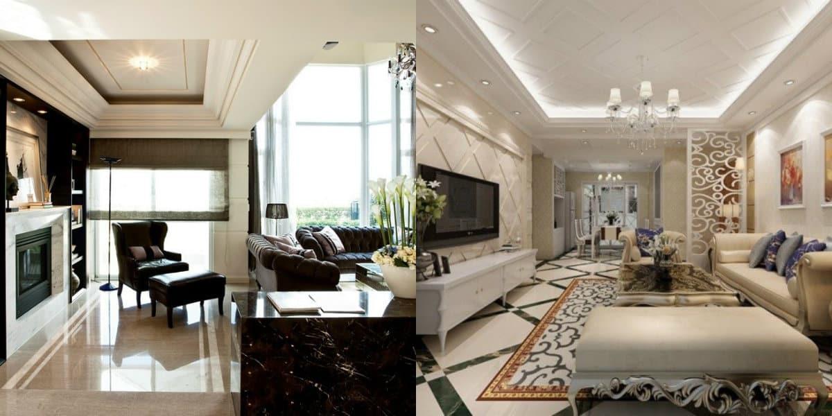 мебель в стиле неоклассика: гостиная