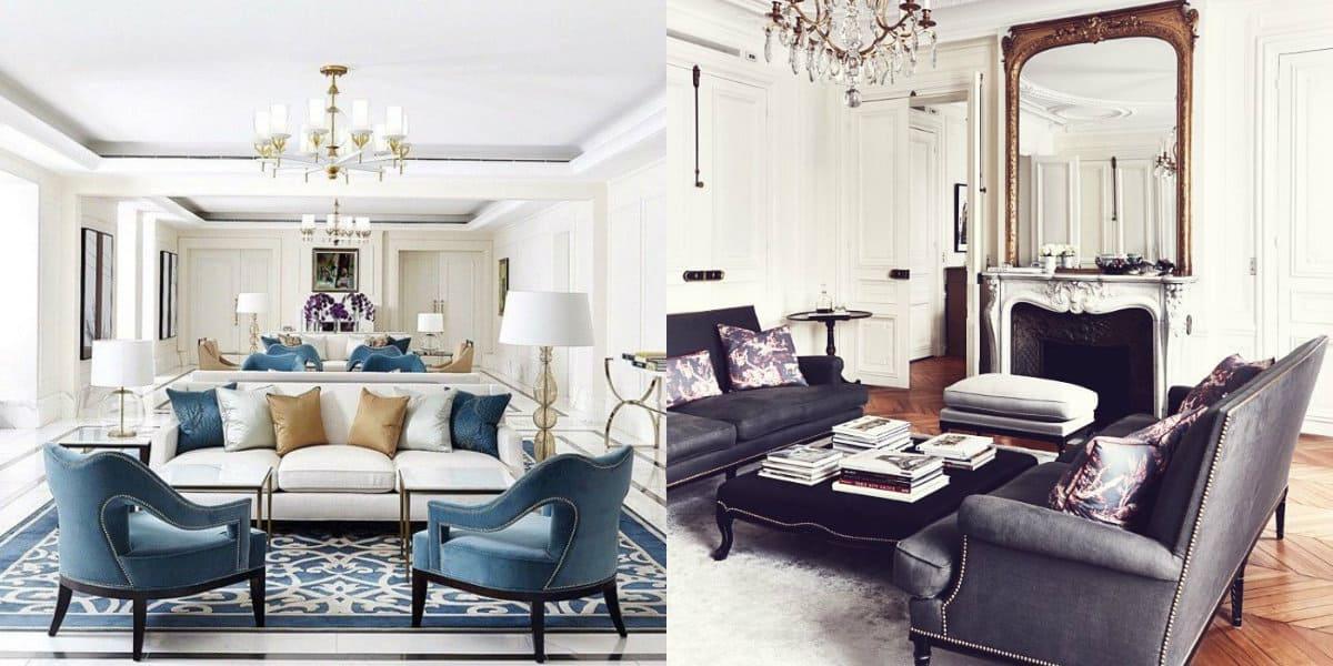 мебель в стиле неоклассика: сочетание цветов