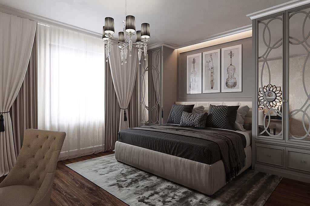 спальня-неоклассика-фото