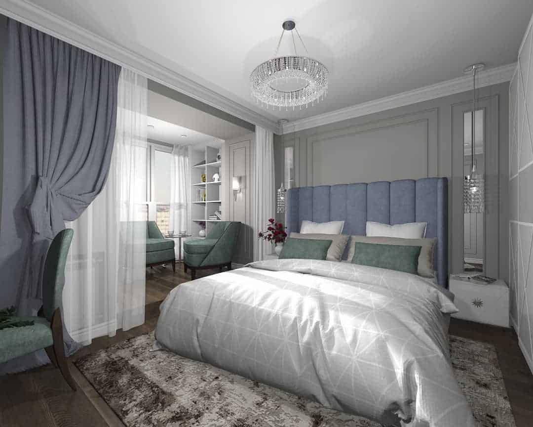 спальня-неоклассика