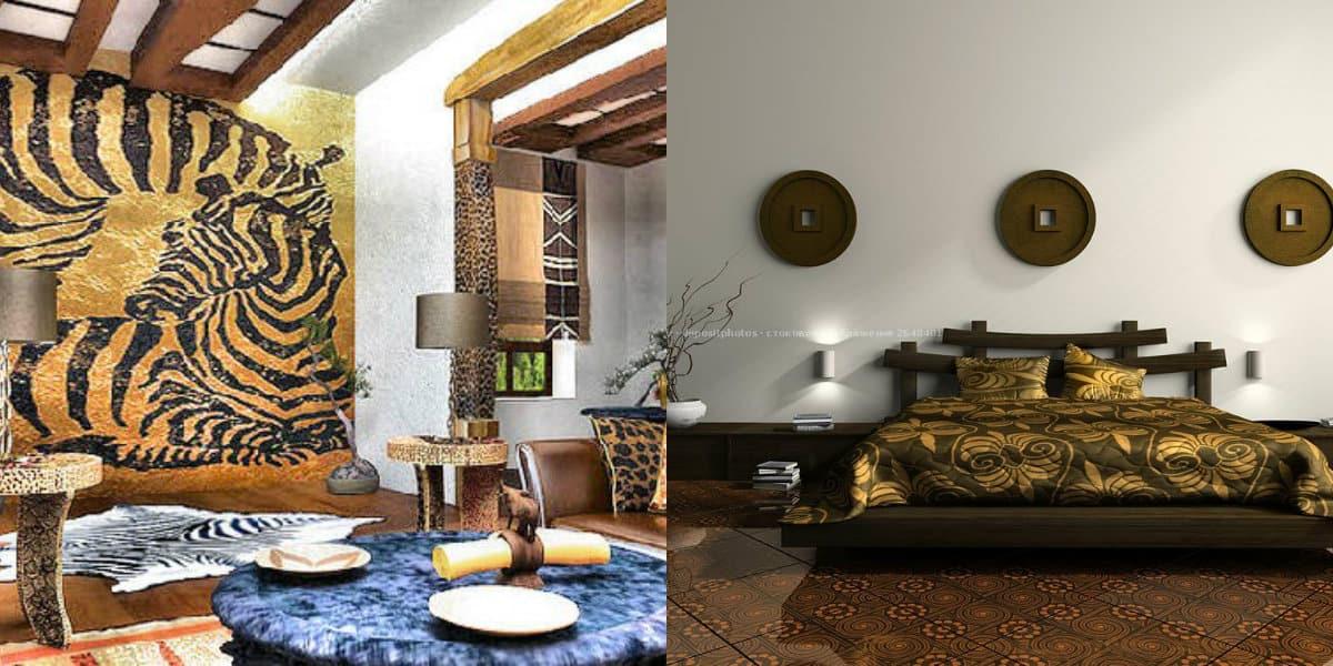 Этнический стиль в интерьере: африканский дизайн