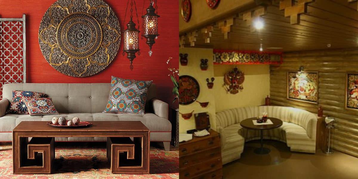 Этнический стиль в интерьере: русский дизайн