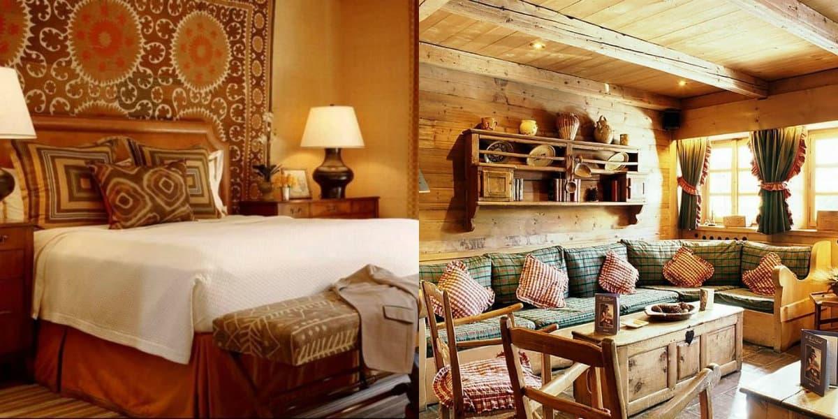Этнический стиль в интерьере: этно-спальня