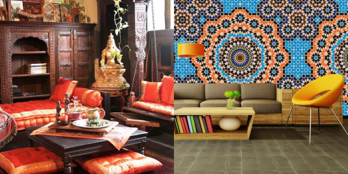 Этнический стиль в интерьере: индийская гостиная