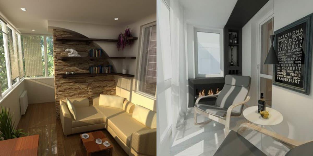 Балкон 2019: диван