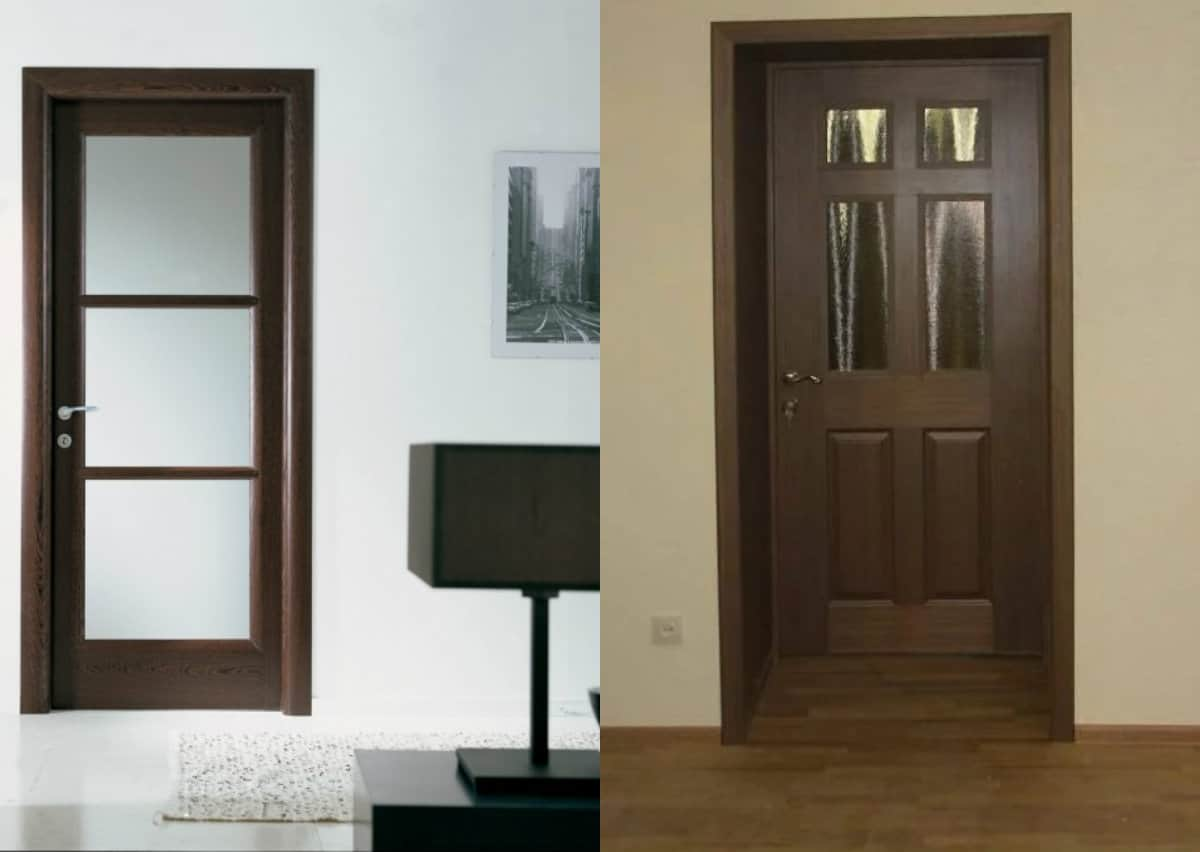 Двери межкомнатные 2019: деревянные варианты