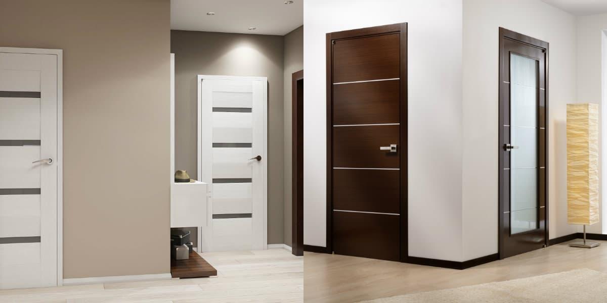 двери межкомнатные 2019 актуальные модели для интерьера дома