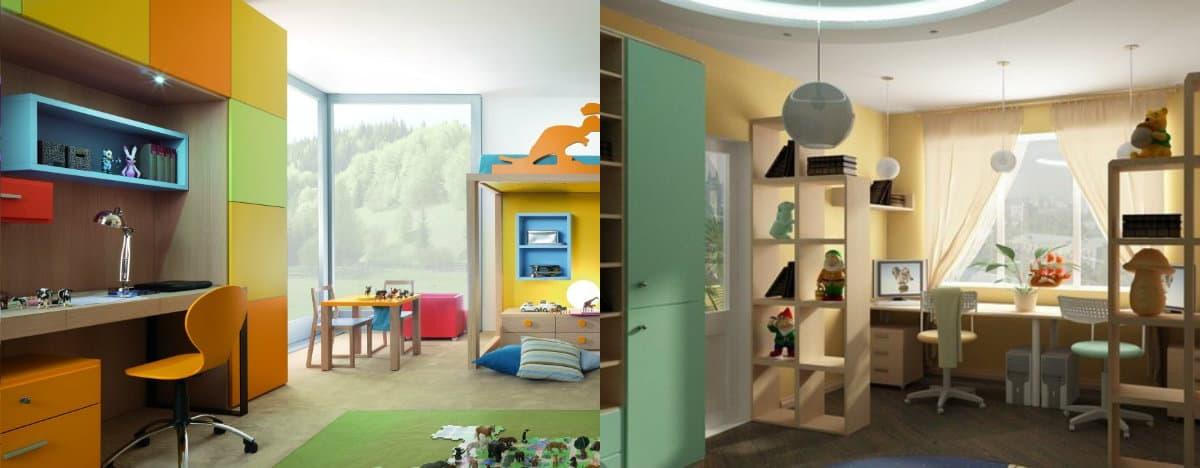 Детская комната 2019: яркие краски