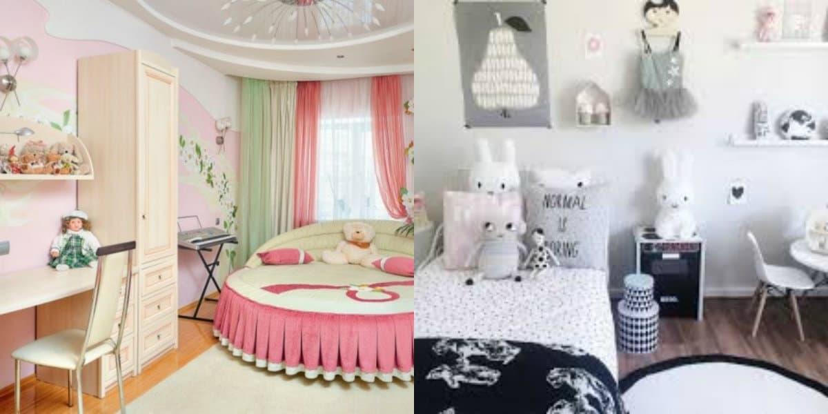 Детская комната 2019: вариант для девочки