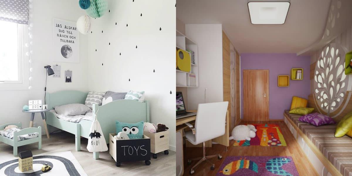 Детская комната 2019: декор