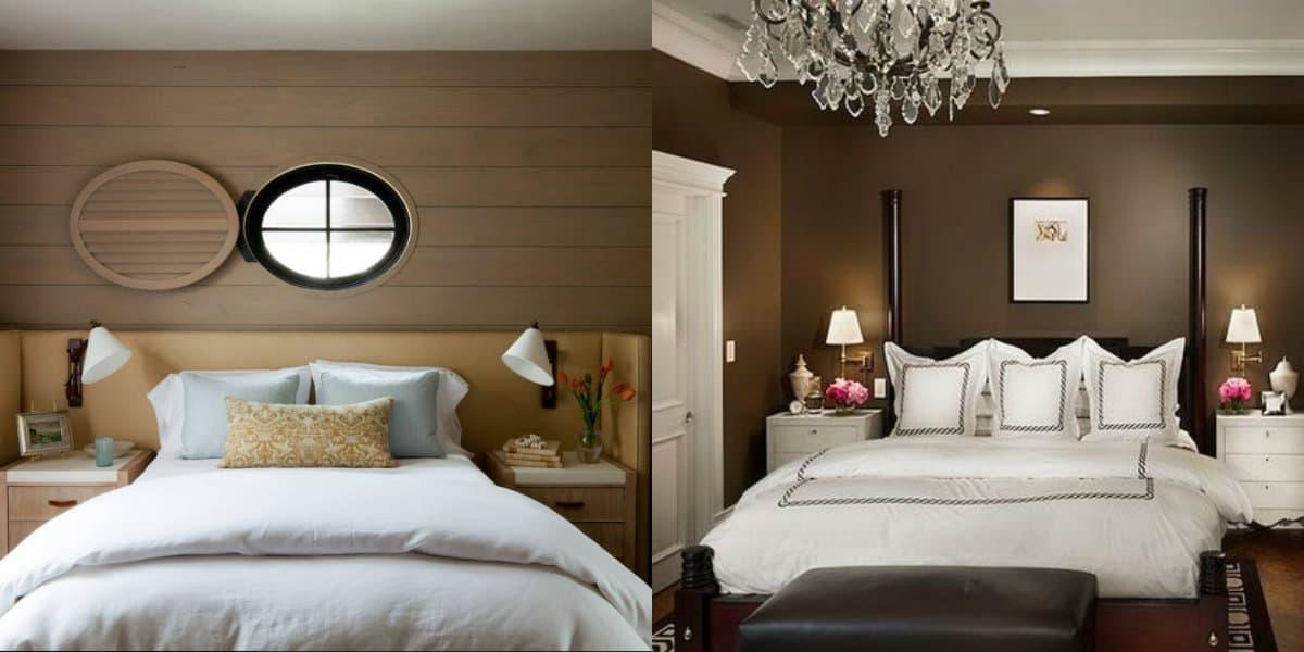дизайн маленькой спальни 2019: текстиль