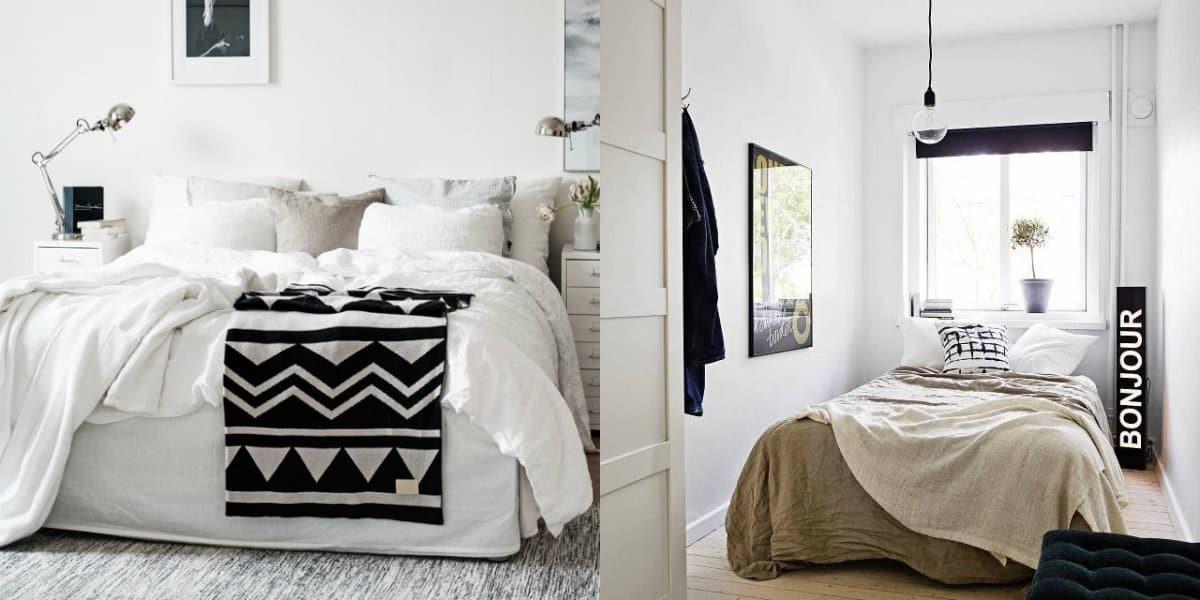 дизайн маленькой спальни 2019: этно-стиль