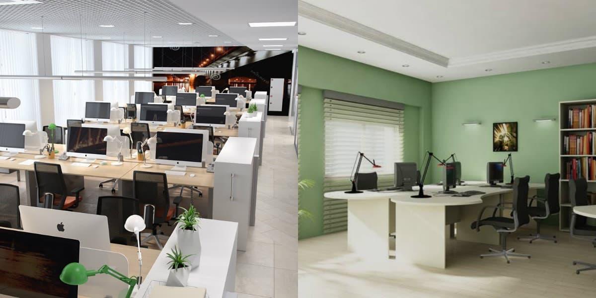 Дизайн офиса 2019: цвет