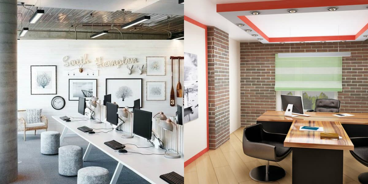 Дизайн офиса 2019: отделка