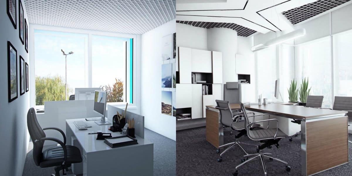 Дизайн офиса 2019: белый дизайн